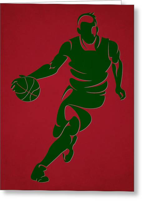 Bucks Shadow Player6 Greeting Card
