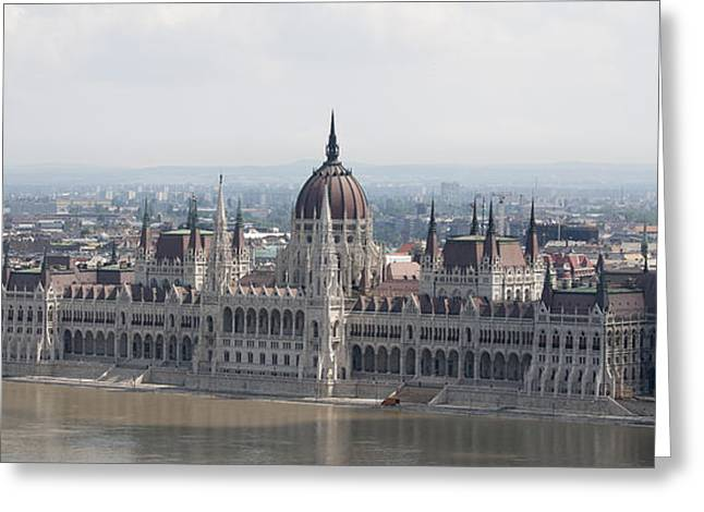 Budapest Greeting Card by Gary Grayson