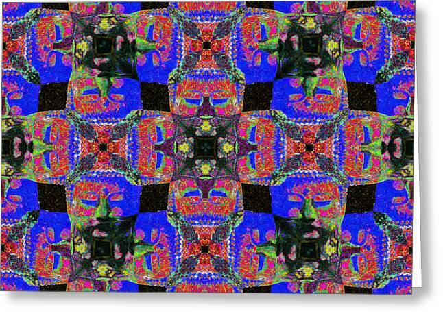 Buddha Abstract 20130130m68 Greeting Card