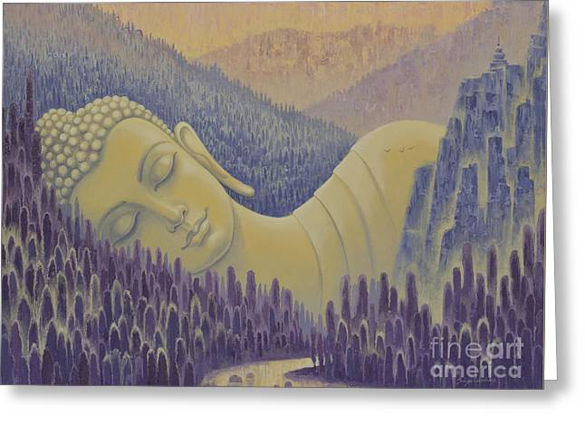 Buddha Is Everything Greeting Card