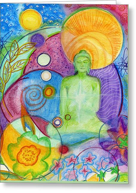 Buddha Of Infinite Possibilities Greeting Card