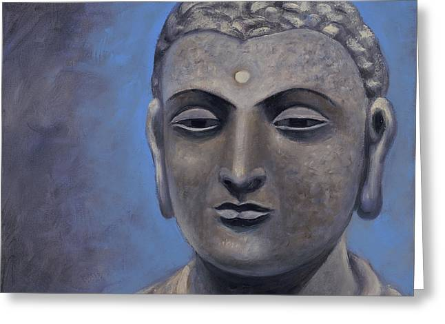 Buddha Portrait Greeting Card