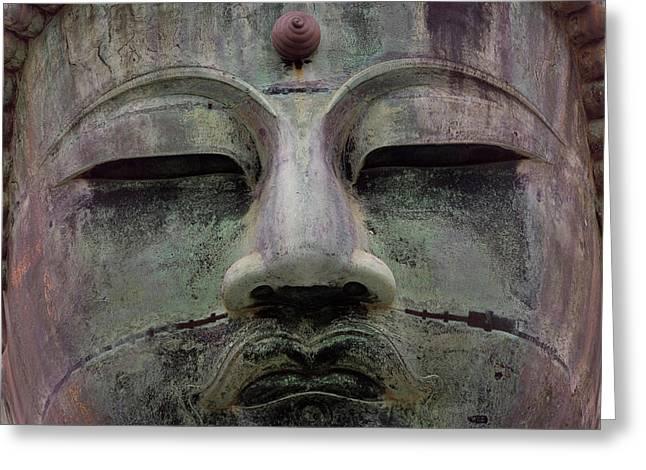 Buddha Statue, Daibutsu (gt Buddha Greeting Card