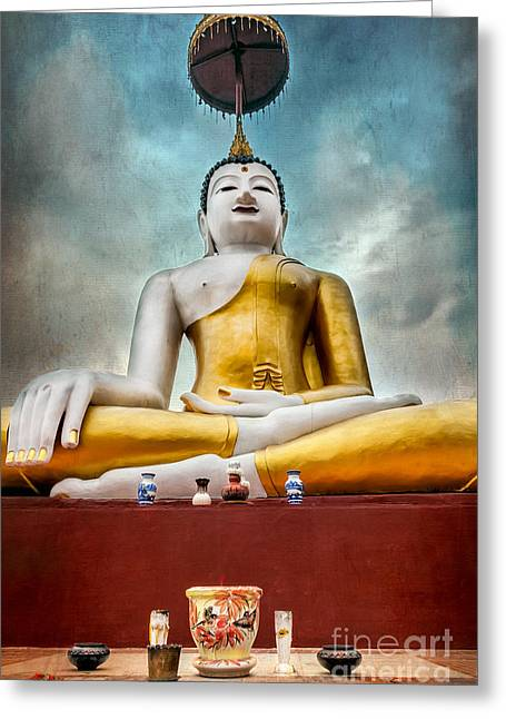 Buddha Thailand Greeting Card
