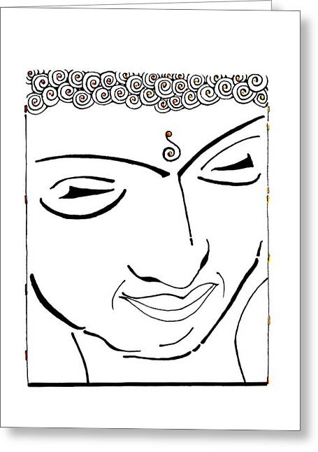 Buddha Xiv Greeting Card