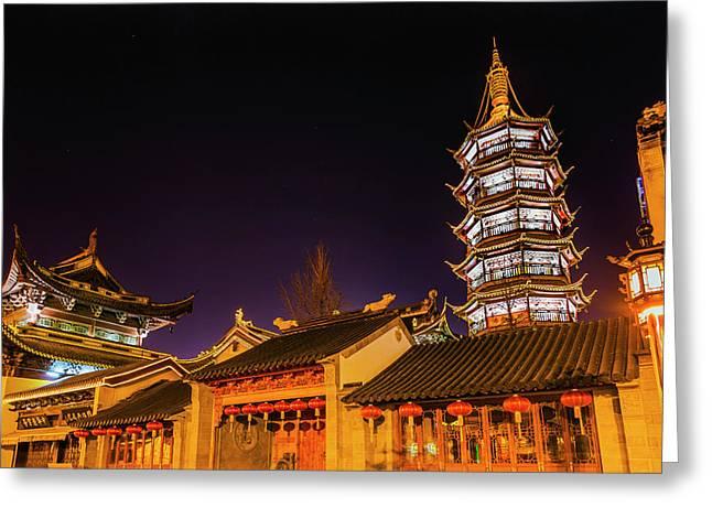 Buddhist Nanchang Nanchang Temple Greeting Card