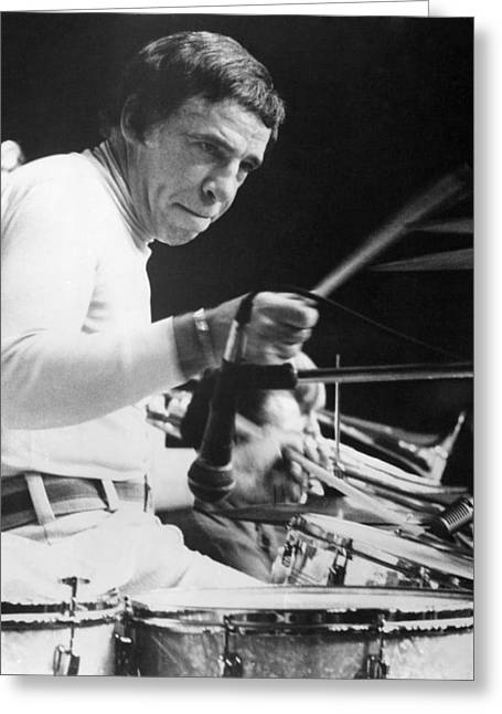 Buddy Rich Greeting Card