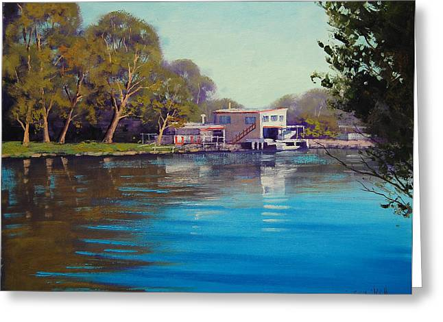 Budgewoi Creek Greeting Card by Graham Gercken