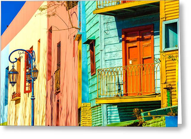 Buenos Aires Colors Greeting Card