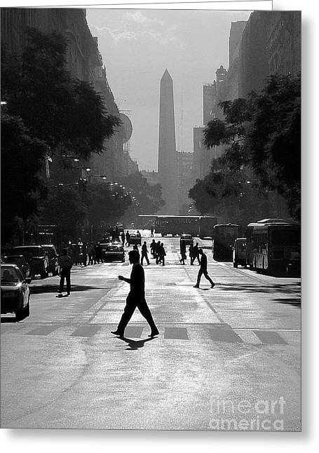 Buenos Aires Obelisk II Greeting Card