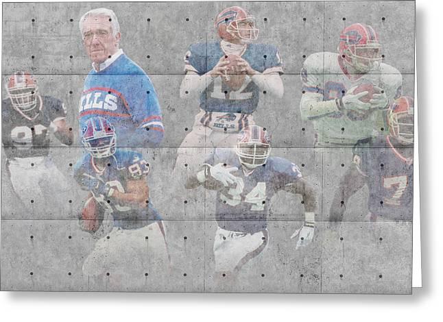 Buffalo Bills Legends Greeting Card