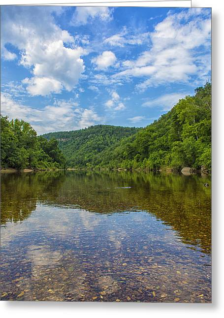 Buffalo River Majesty Greeting Card