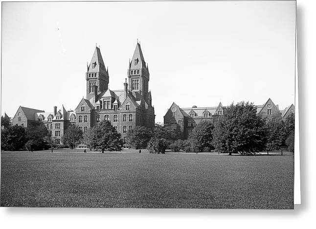 Buffalo State Hospital Greeting Card by Granger