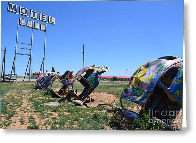 Greeting Card featuring the photograph Bug Ranch by Utopia Concepts