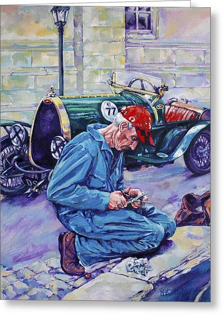 Bugatti-angouleme France Greeting Card by Derrick Higgins