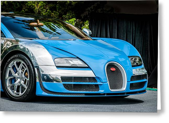 Bugatti Legend - Veyron Special Edition -0844c Greeting Card by Jill Reger