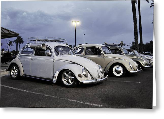 Bugs Night Out Greeting Card by Rob Weisenbaugh