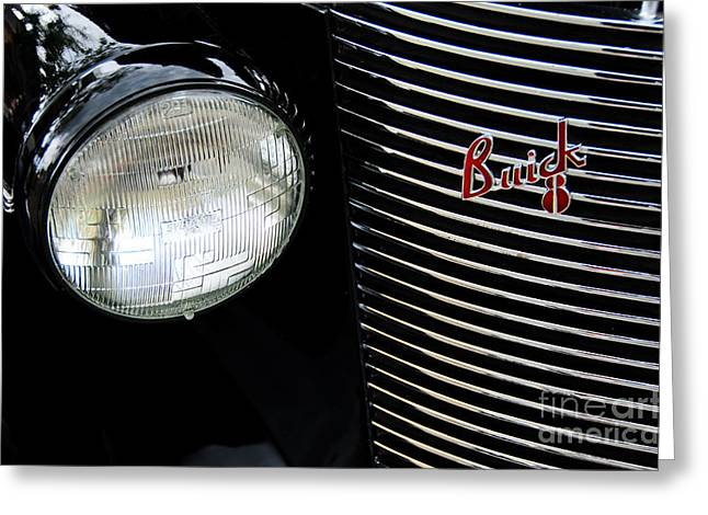 Buick 8 Greeting Card by David Lawson