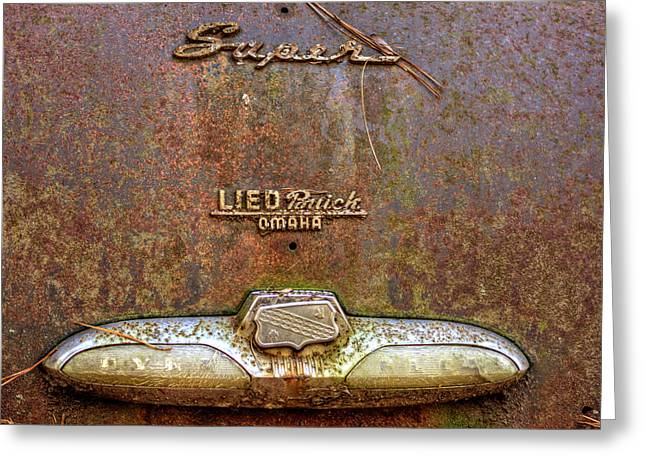 Buick Dynaflow Greeting Card by Greg Mimbs