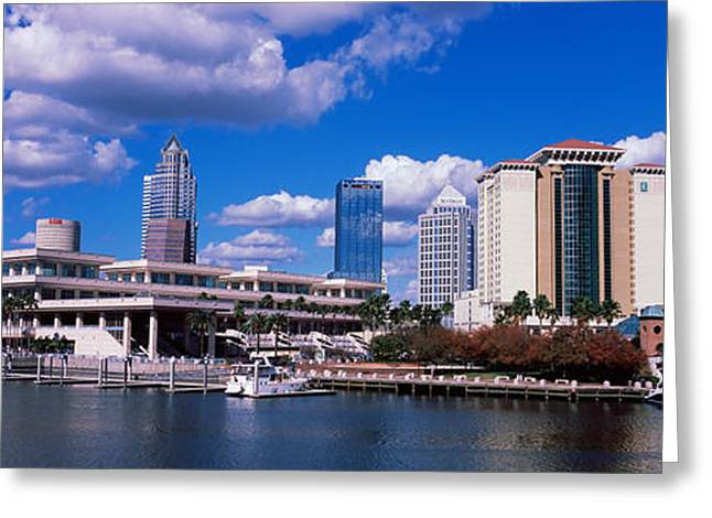 Buildings At The Coast, Tampa Greeting Card by Panoramic Images