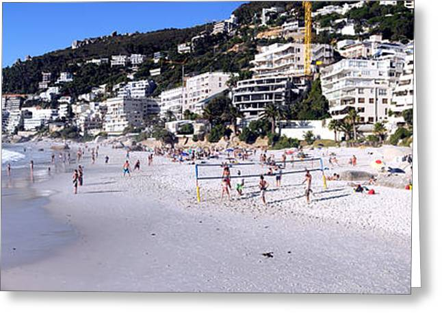 Buildings At The Waterfront, Clifton Greeting Card by Panoramic Images