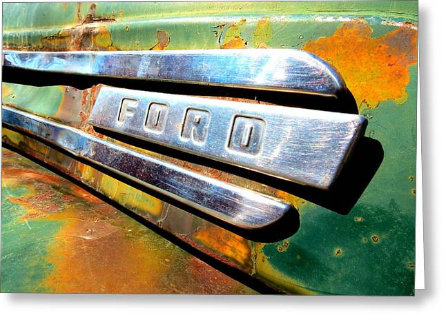 Built Ford Tough Greeting Card