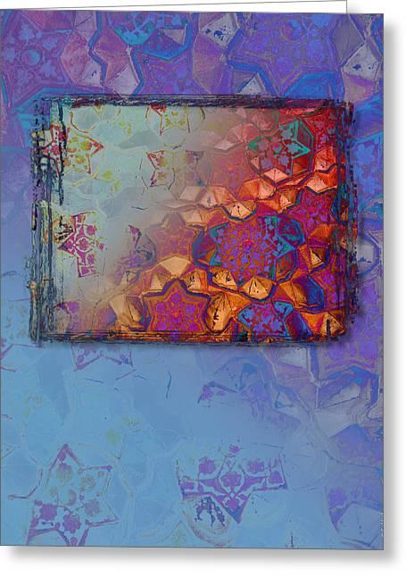 Bukhara Glow Greeting Card