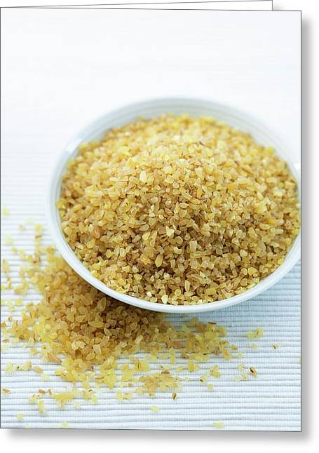 Bulgur Wheat Greeting Card by Gustoimages