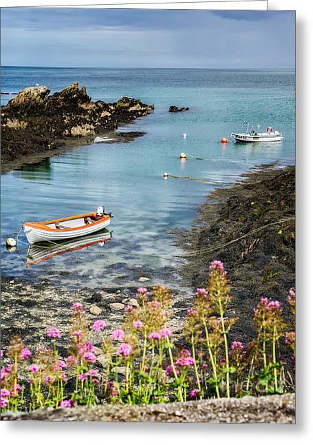 Bull Bay Boats Greeting Card