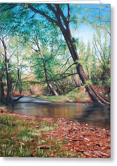Bull Creek Greeting Card