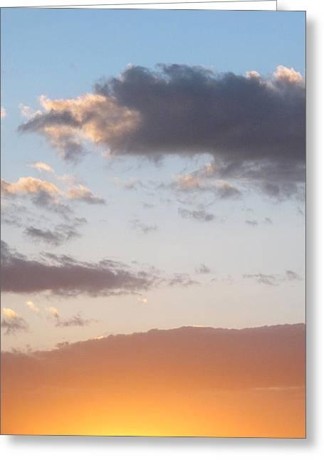 Bullhead Sunset Greeting Card