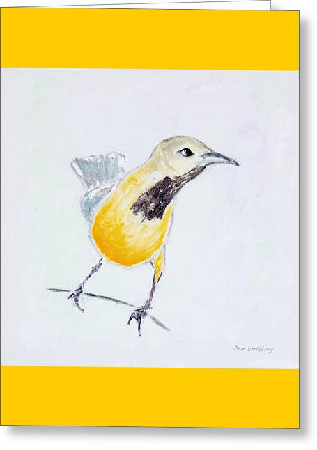 Bullock's Oriole No 1 Greeting Card by Ben Gertsberg