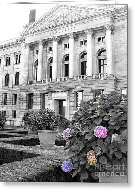 Bundesrat Germany Greeting Card by Art Photography