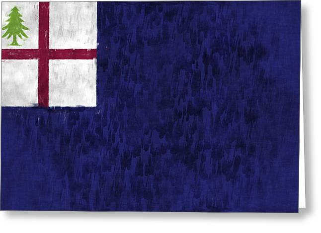 Bunker Hill Flag Greeting Card