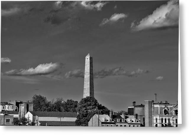 Bunker Hill Monument 4 Greeting Card by Joann Vitali