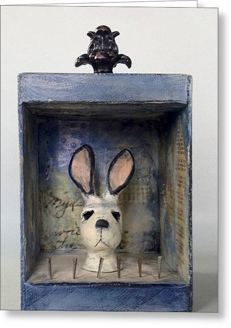 Bunners Greeting Card by Susan McCarrell