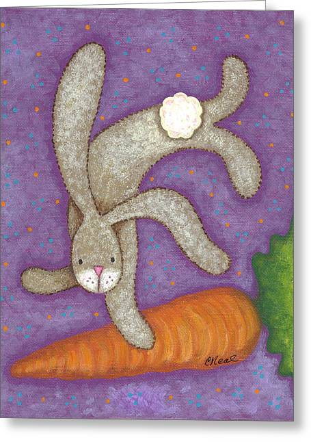 Bunny Bliss Greeting Card