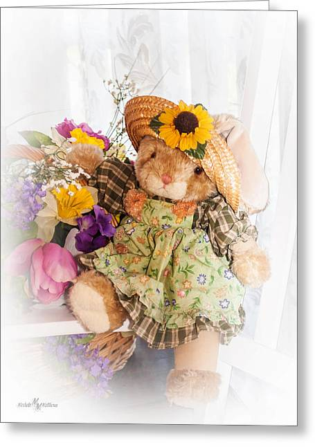 Bunny Expressions Greeting Card