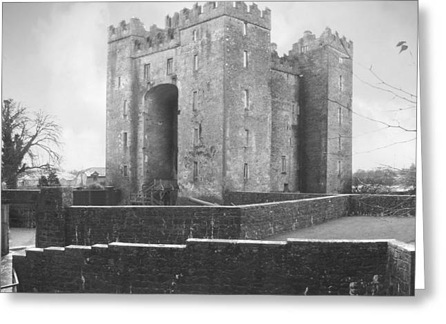 Bunratty Castle - Ireland Greeting Card by Mike McGlothlen