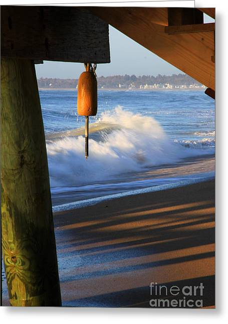 Buoy 2 Greeting Card by Michael Mooney