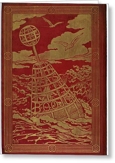 Buoy At Sea Greeting Card by British Library
