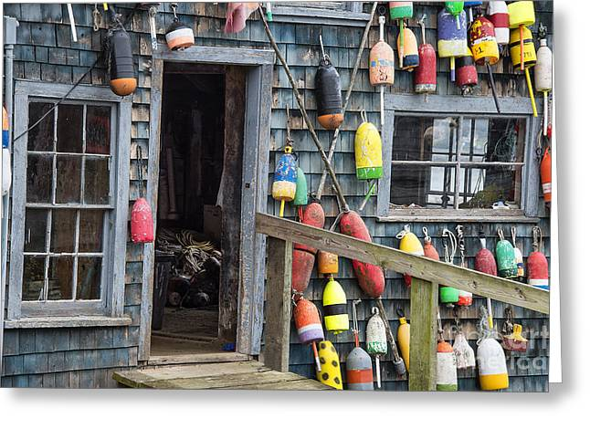 Buoy Shack Greeting Card