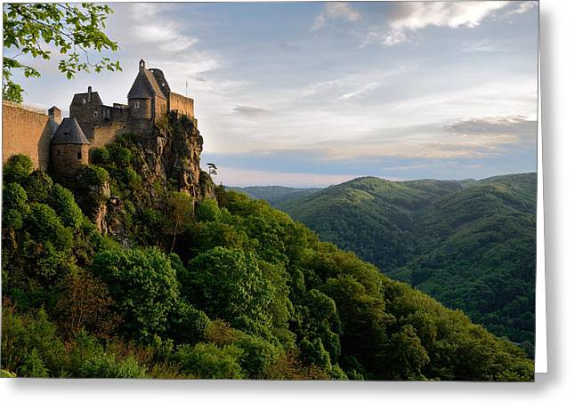 Burgruine Aggstein Greeting Card