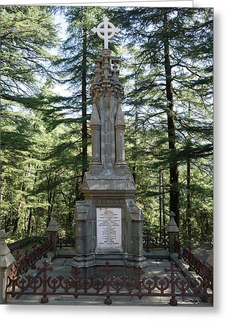 Burial Marker For Lord Elgin Viceroy Greeting Card by Panoramic Images
