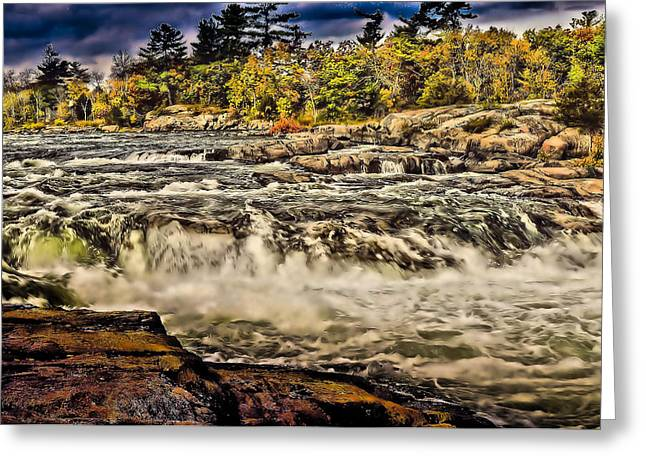 Burleigh Falls  Greeting Card