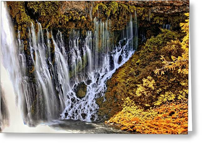 Burney Falls 2 Greeting Card
