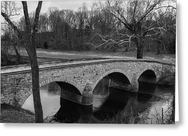 Burnside's Bridge At Antietam Greeting Card