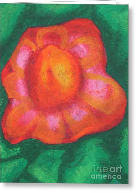 Bursting Bloom Greeting Card