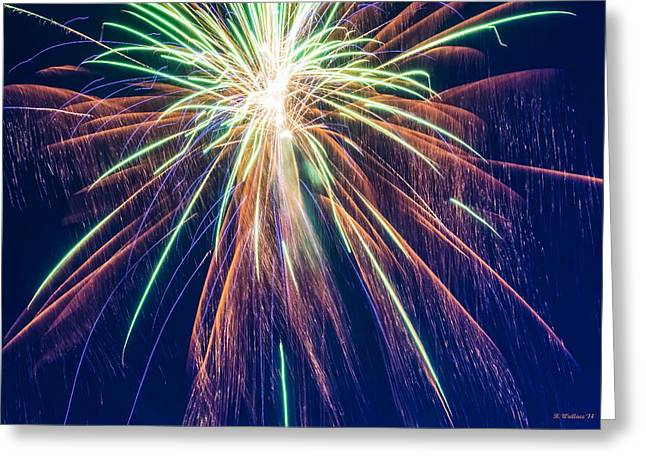 Bursting In Air Greeting Card by Brian Wallace