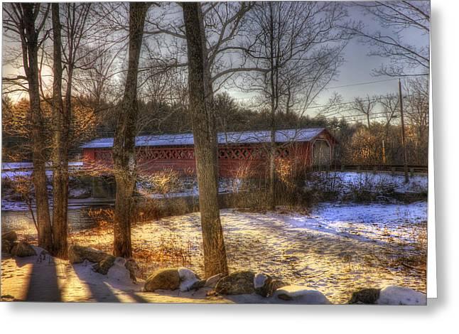 Burt Henry Covered Bridge - Vermont Greeting Card